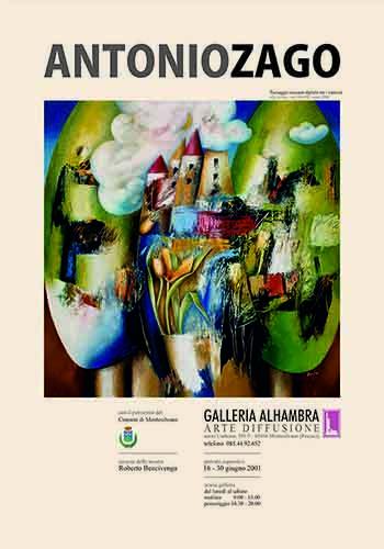 galleria alhambra anno 2001 - antonio zago