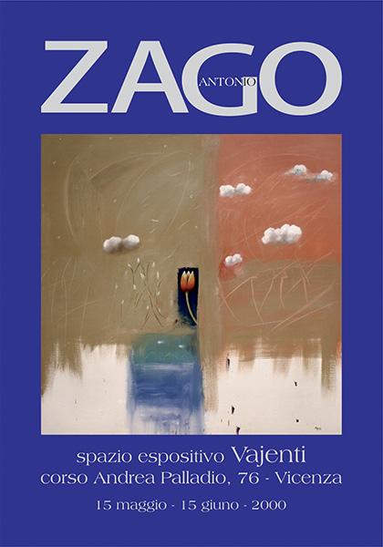 spazio espositivo Vajenti-Vicenza - anno 2000 - antonio zago